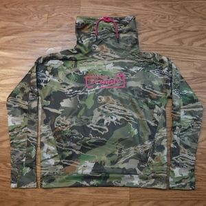 Under Armour Loose Coldgear Forest Camo Sweatshirt